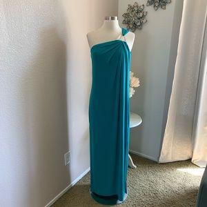 Michael Michael Kors One Shoulder Gown NWT Medium